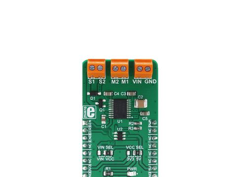 Mikroe H-Bridge 2 click - 2 Channel DC motor driver - MPC17510