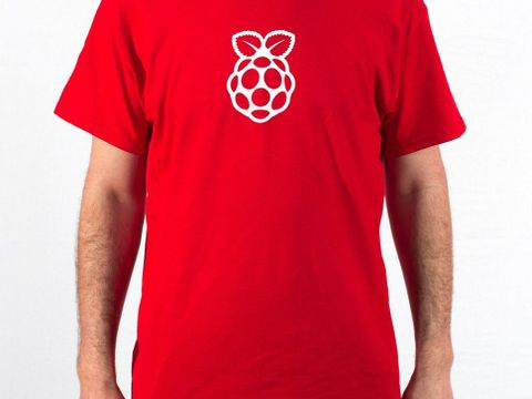Raspberry Pi Men's T-shirt (Small)
