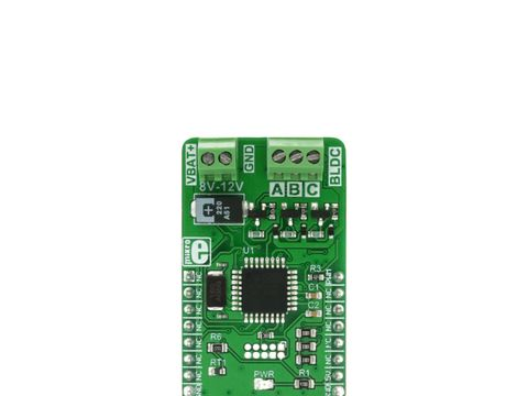 Mikroe Brushless 6 click - 3 Phase Sensorless Brushless Motor (BLDC) Driver