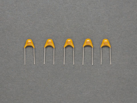 20 pF Ceramic Capacitors - Pack of 5