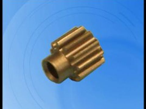 P61 Pinion Gear, RS-500 motor, first stage 5:1, 3.2mm shaft