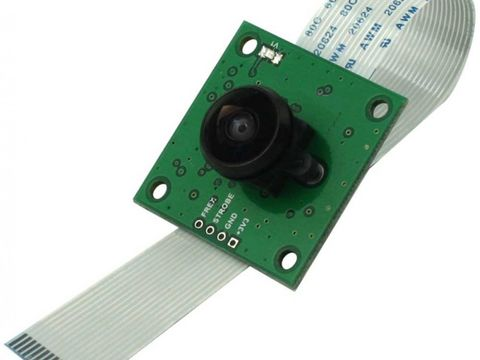 ArduCam OV5647 Camera Board w/ Fisheye Lens M12x0.5 Mount for Raspberry Pi 3