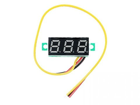 "0.28"" LED Display Digital Voltmeter 4-40V"