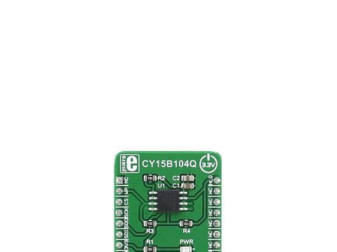 Mikroe FRAM 2 click - CY15B104Q 4 Mbit Serial Ferroelectric (FRAM) Module