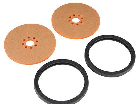 "Precision Disc Wheel - 3"" (Orange, 2 Pack)"