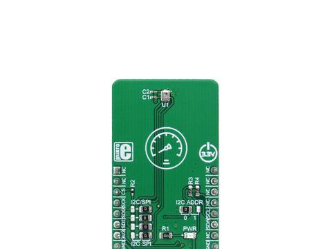 Mikroe Pressure 4 click - BMP280 I2C or SPI Barometric Pressure & Temperature Sensor