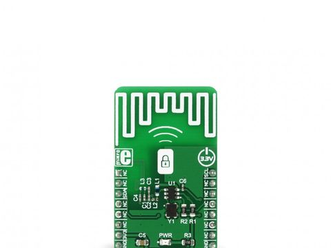 Mikroe OOK TX click - Wireless Transmitter at Frequency 433MHz