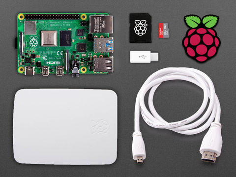 Raspberry Pi 4 Basic Kit - 8GB with 64GB Class 10 SD Card