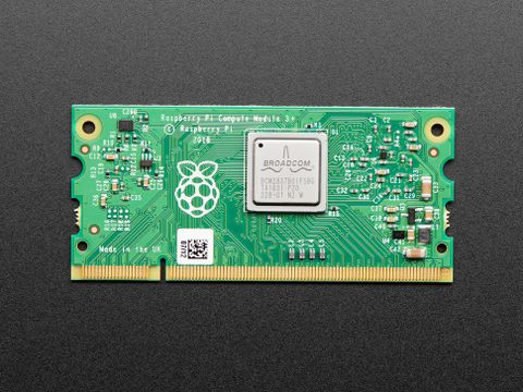 Raspberry Pi Compute Module 3+ with 8GB eMMC Flash Memory