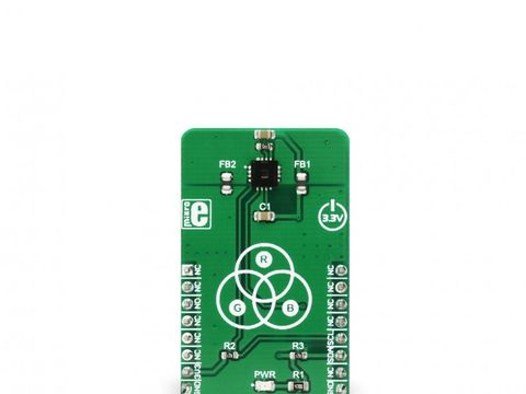 Mikroe Color 6 Click - High Accuracy Color Sensor Board - AS73211