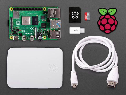 Raspberry Pi 4 Basic Kit (2GB) with 64GB Class 10 SD Card