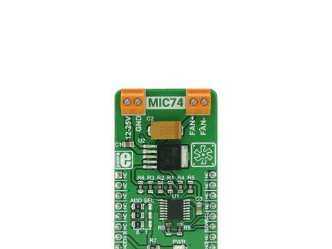 Mikroe Fan 3 Click - 12 V Fan Controller with 12C Interface