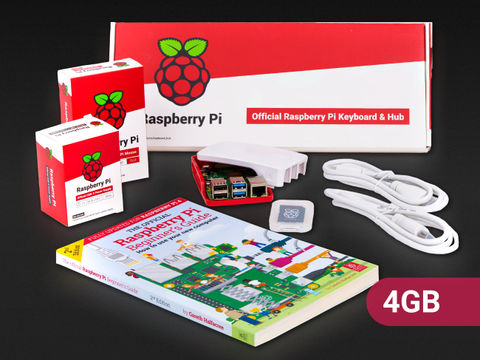Raspberry Pi 4 Desktop Kit - 4GB RAM