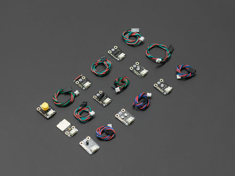 DFRobot Gravity: 9 Pcs Sensor Set for Arduino