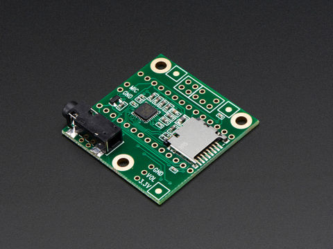 Audio Adapter Board for Teensy 3.0 & 3.1 Development Board