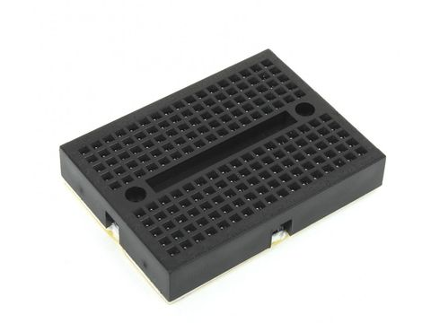 Mikroe Breadboard Mini Self-Adhesive Black
