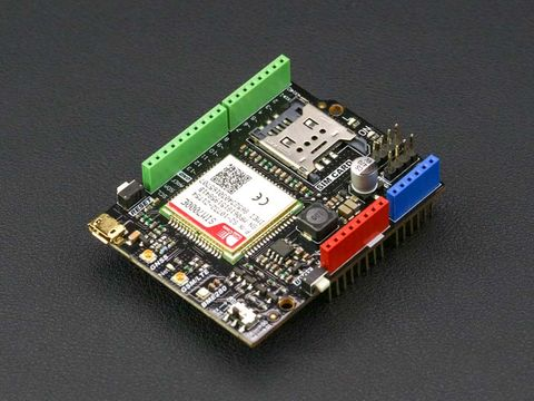 SIM7000E Arduino NB-IoT/LTE/GPRS/GPS Expansion Shield
