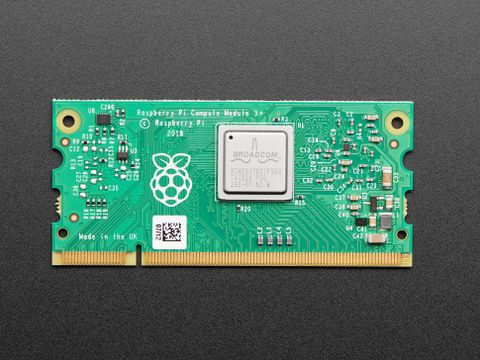 Raspberry Pi Compute Module 3+ with 16GB eMMC Flash Memory