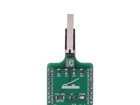 Mikroe Tamper 2 click w/ levered D2HW-A221D microswitch