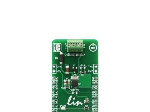 Mikroe ATA663254 click - Local Interconnect Network (LIN) Transceiver Module