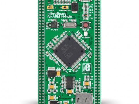 Mikroe mikroBoard for ARM 144-pin - LPC2214 microcontroller