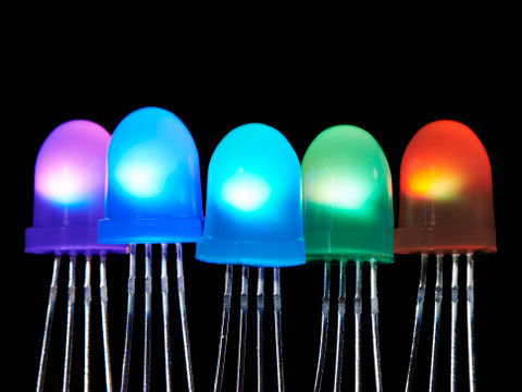 NeoPixel LED - 8mm Diffused - Pack of 5