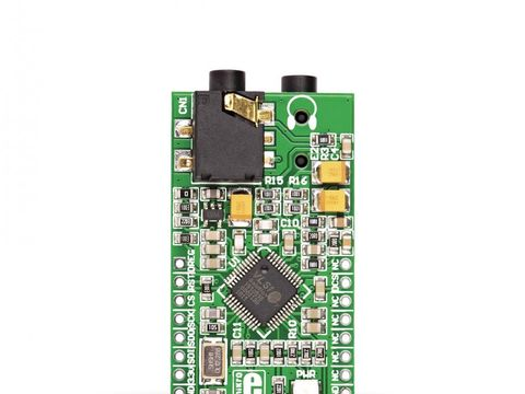 Mikroe MP3 Click with Stereo MP3 Decoder Chip VS1053