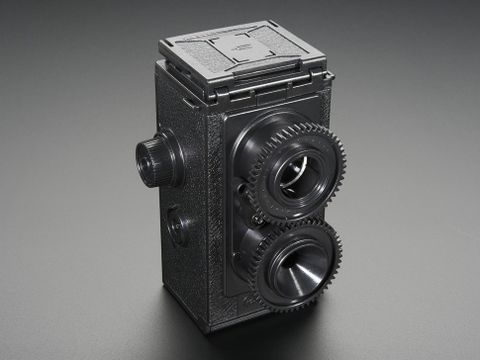 35mm Twin Lens Reflex Camera Kit from Gakken