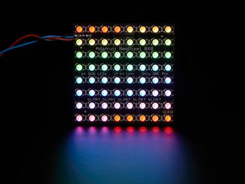 Adafruit NeoPixel NeoMatrix - 64 RGBW - Natural - 4500K