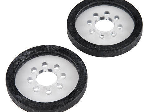 "Precision Disc Wheel - 2"" (Clear, 2 Pack)"