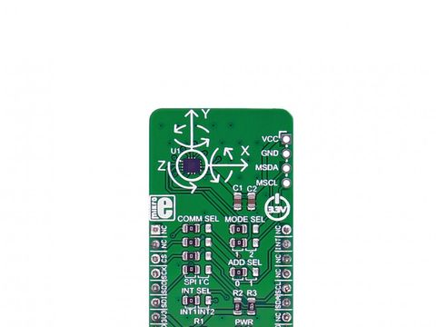 Mikroe LSM6DSL click - 6 Degress of Freedom 3D Accelerometer and Gyroscope w/ I2C