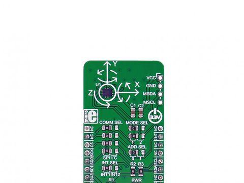 Mikroe LSM6DSL click - 6 Degress of Freedom 3D Accelerometer and Gyroscope w/ I2C