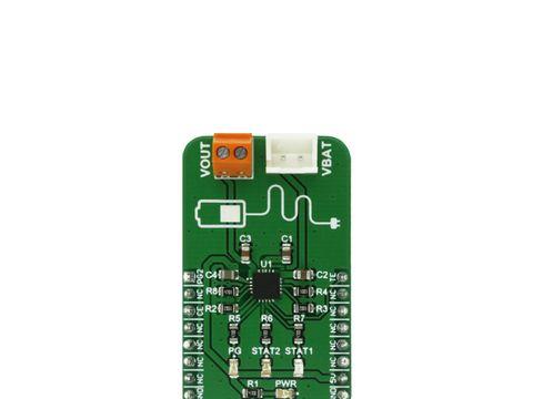Mikroe MCP73871 Click - Li-Po/Li-Ion Battery Charger with Load Sharing