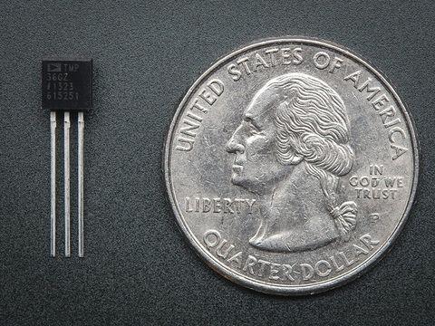 TMP36 - Analog Temperature sensor - TMP36