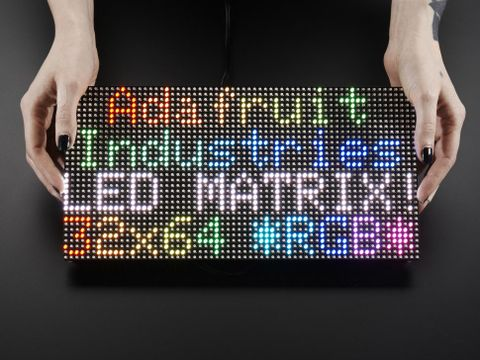 64x32 RGB LED Matrix - 5mm pitch