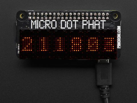 Pimoroni Micro Dot pHAT with Included LED Modules - Red