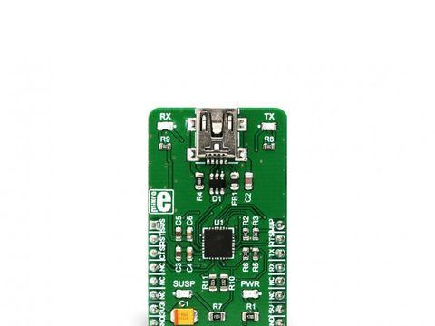 Mikroe USB UART 3 click - USB to UART Module - CP2102N