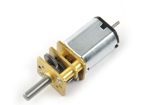 6V Pololu 298:1 Micro Metal Gearmotor w/ Extended Motor Shaft