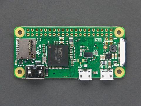 Pi Zero W microSD + Adapter + Case + HDMI Bundle
