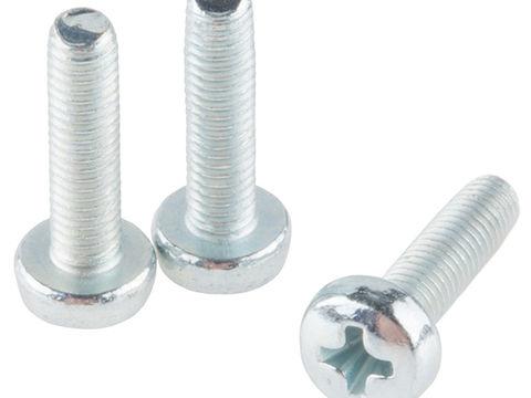 Screw - Phillip Head (M3 x 12mm, 3 pack)