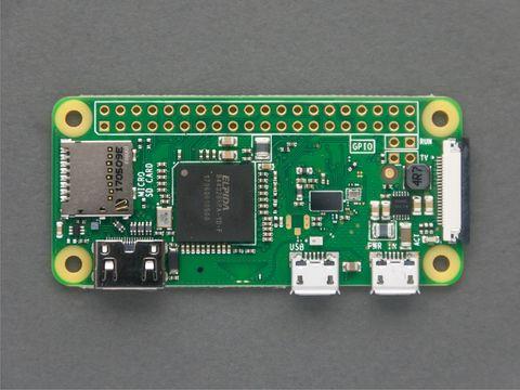 Pi Zero W + microSD + Camera cable Bundle