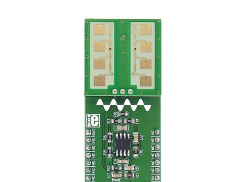 Mikroe Microwave click -  PD-V11 24GHz Microwave Proximity & Motion Sensor