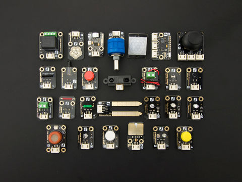 DFRobot Gravity: 27 Pcs Sensor Kit for Arduino