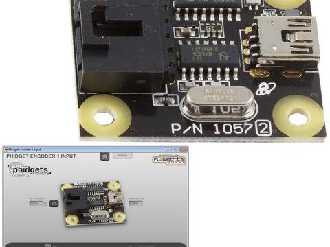 Phidgets USB Encoder 1-Input w/ FlowBotics App