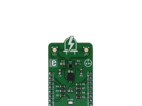 Mikroe LED Flash 2 Click with Torch Mode and the Flash - MIC2870