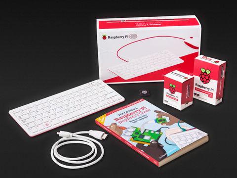 Raspberry Pi 400 Computer Kit (US Keyboard)