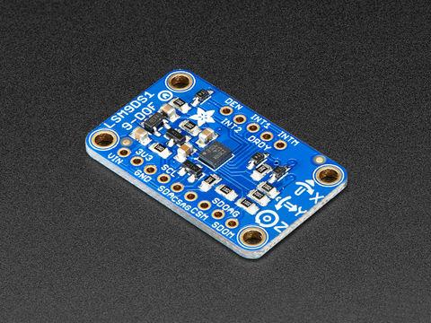 Adafruit 9-DOF Accel/Mag/Gyro+ Temp Breakout Board - LSM9DS1
