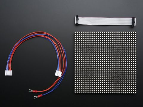32x32 RGB LED Matrix Panel - 5mm Pitch