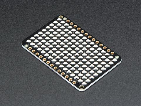 LED Charlieplexed Matrix - 9x16 LEDs - Yellow