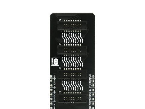 Mikroe Shuttle click - mikroBUS™ Socket Expansion Board
